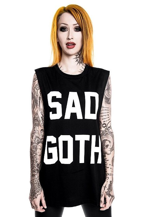 Sad Goth Tank