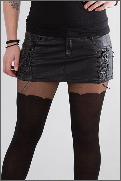 Mini Skirt Tight Leather - Shock Store - EU