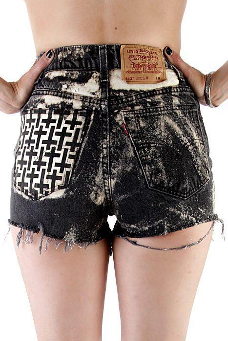 Vintage Shorts Crosses