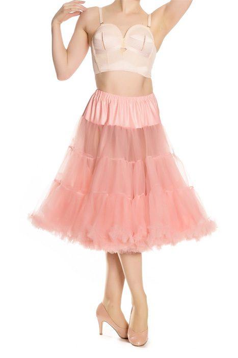 Long petticoat hell bunny baby pink