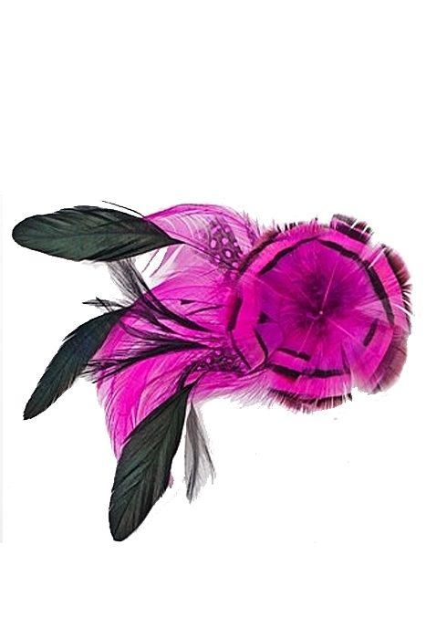 Fascinator Feather Flower