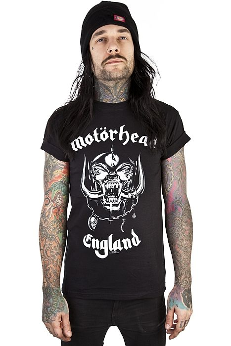 Motörhead T-shirt England Black