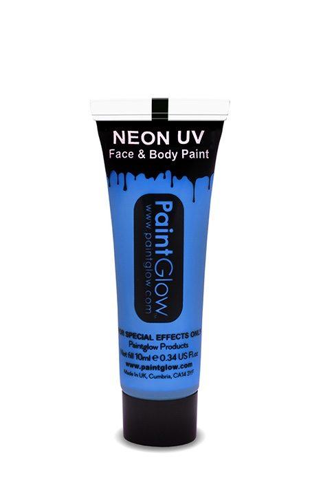 UV Neon Face & Body Paint Blue