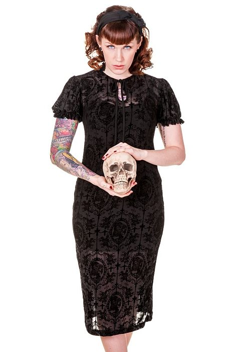 Gothic retro dress