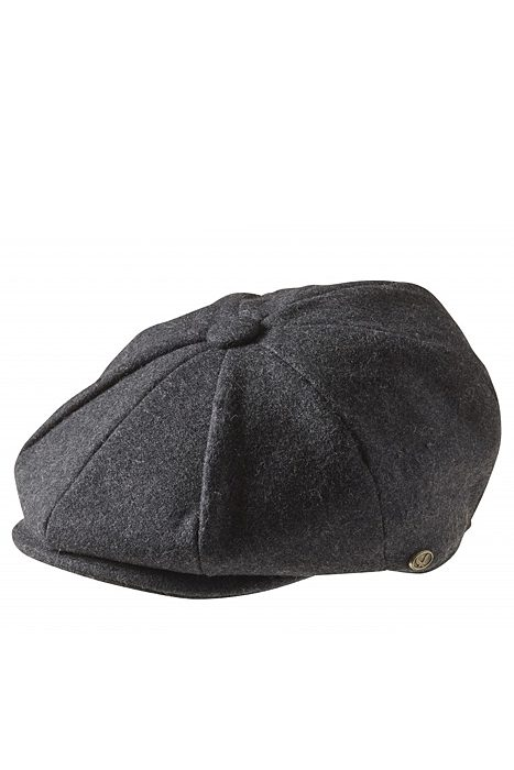 Newsboy Cap Charcoal