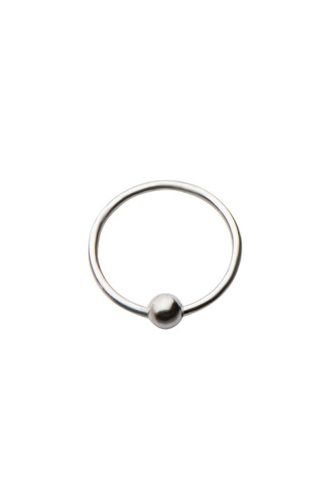 Nose Ring Sterling Silver