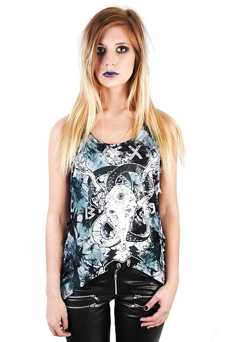 Girls Tank Wounded Hex