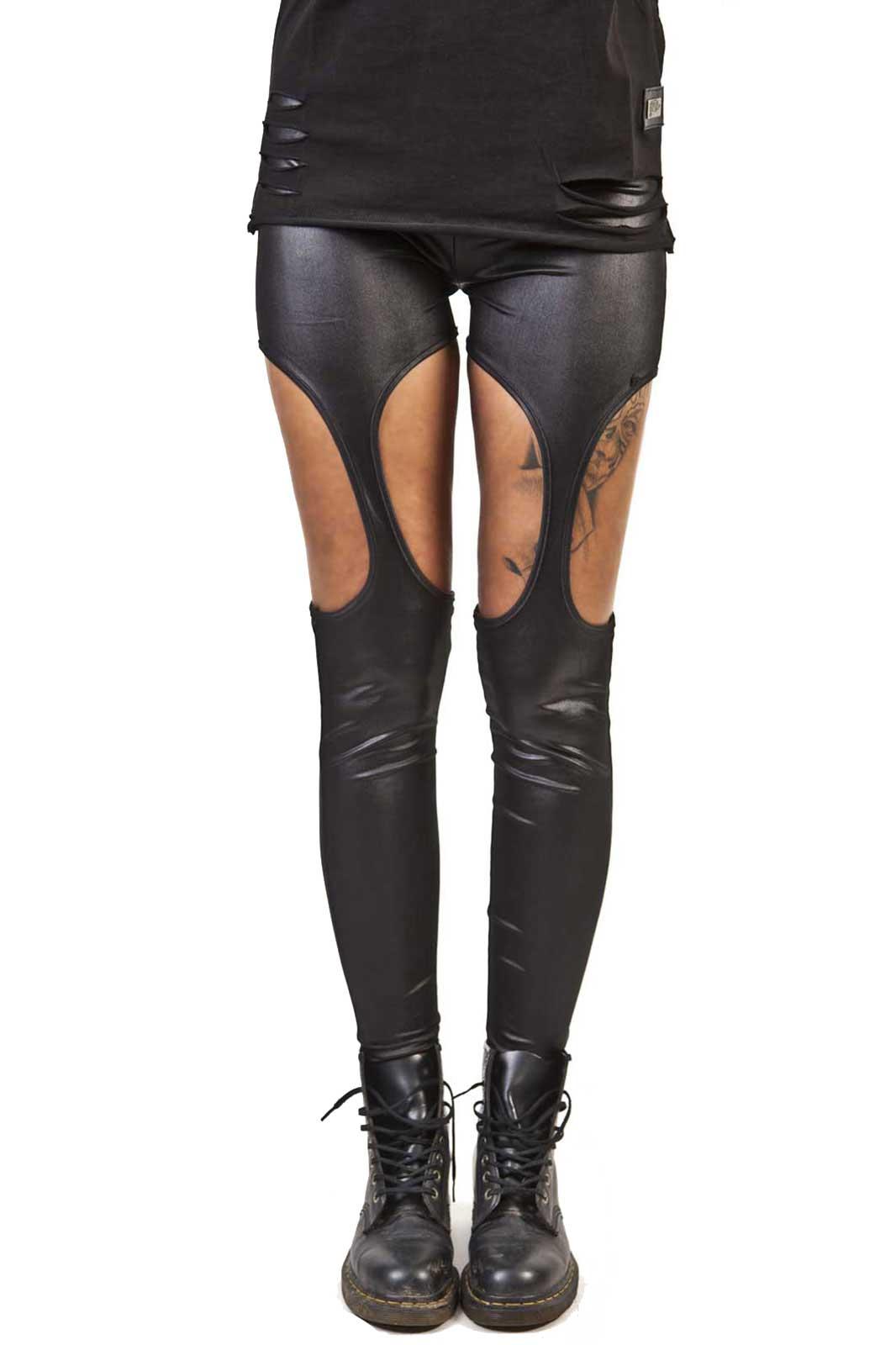 poizen industries cutout leggings