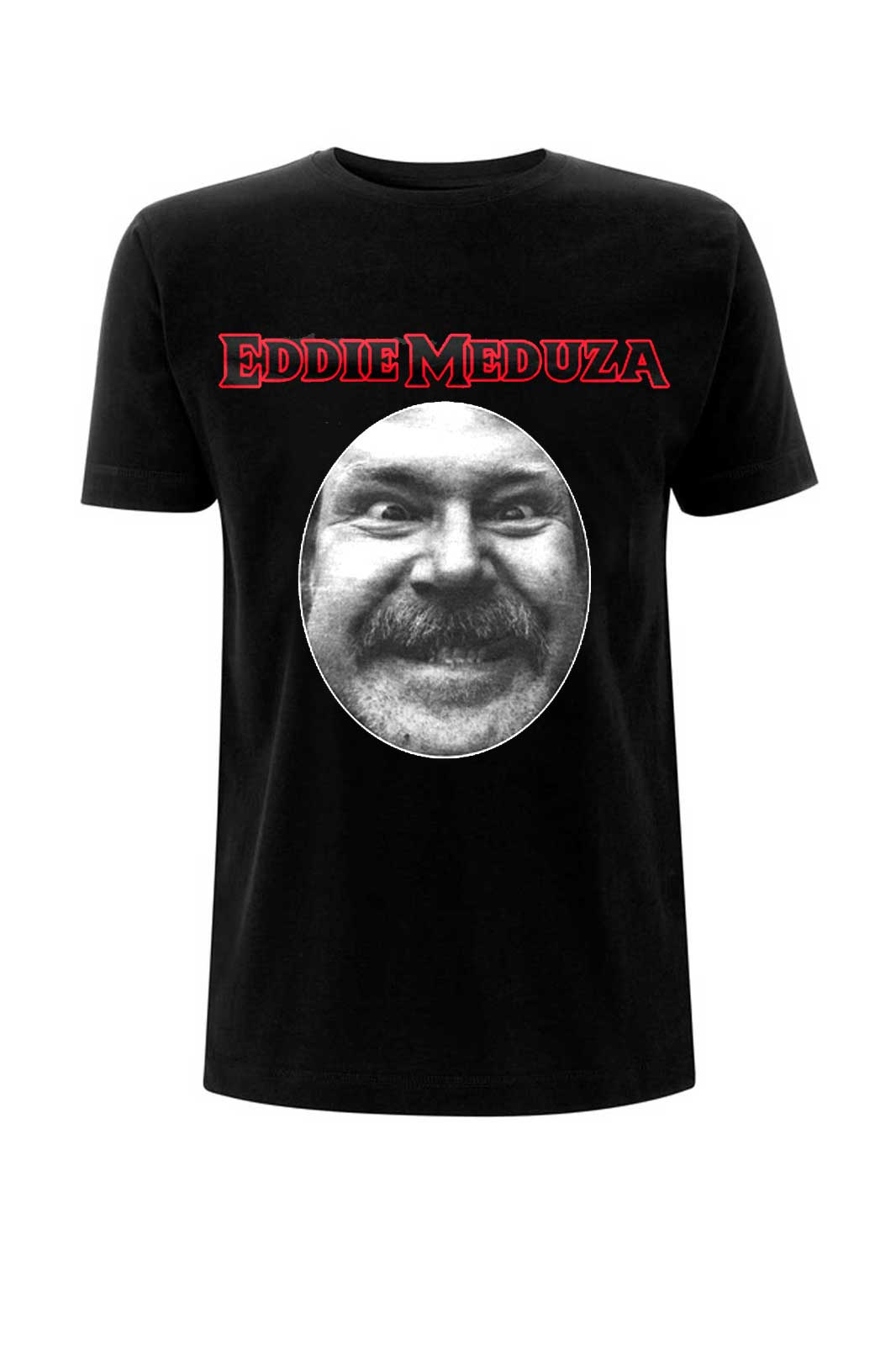 official merchandise tee eddie meduza face