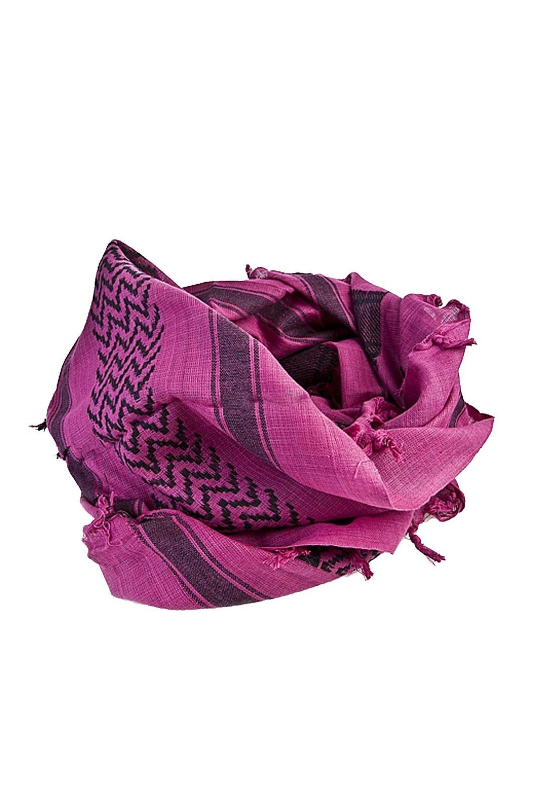 tronseal ltd palestina scarf fushia/black