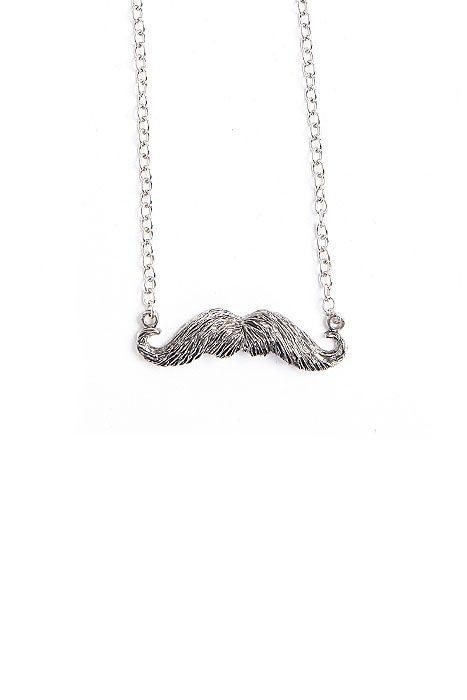 Necklace Mustache