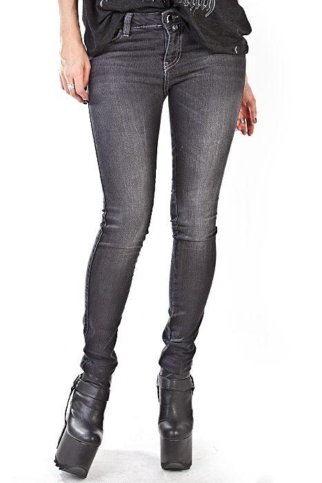 Moon 5-pocket Jeans Grey