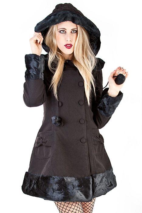 Sarah Jane Coat Black