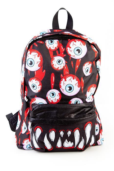 Blood shot backpack