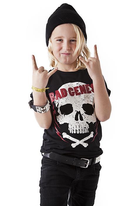 Kids Bad genes tee