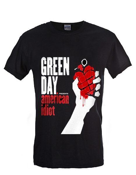 green day american idiot tee