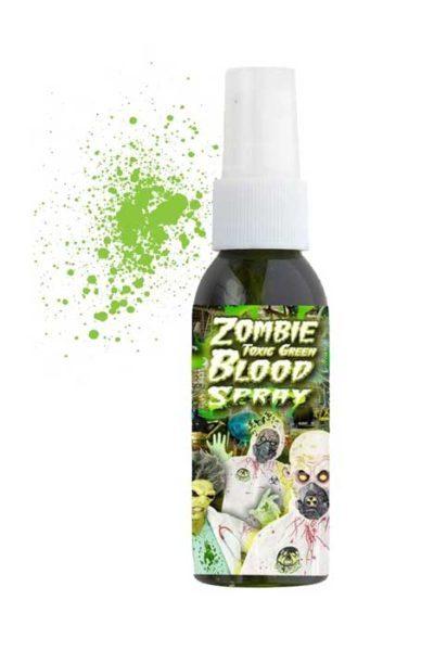 Zombie Toxic Green Bloodspray