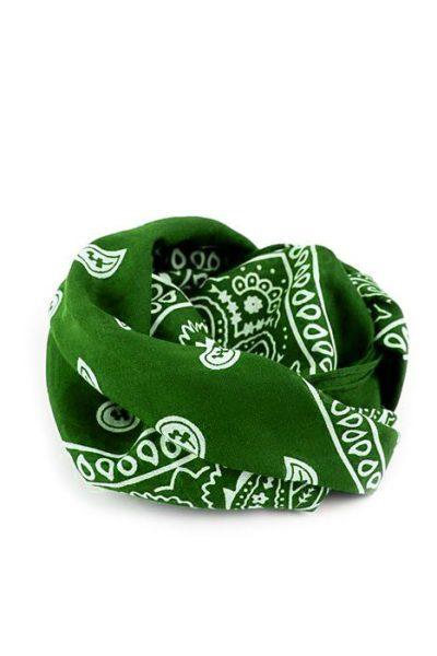 Bandanas Paisley Green
