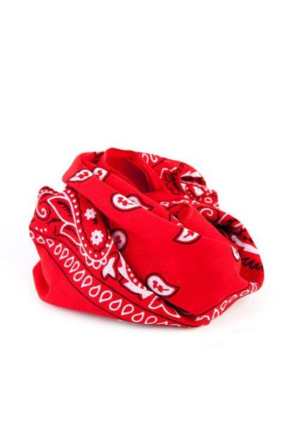 Bandanas Paisley Red
