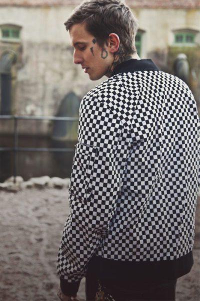 Bomber Jacket Checkered