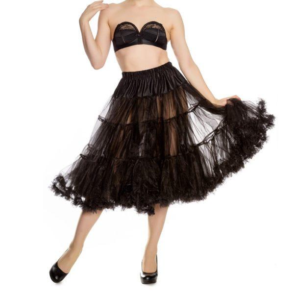 long petticoat hell bunny black
