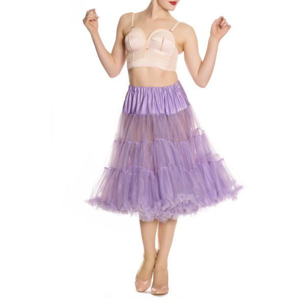 long petticoat hell bunny lavendel