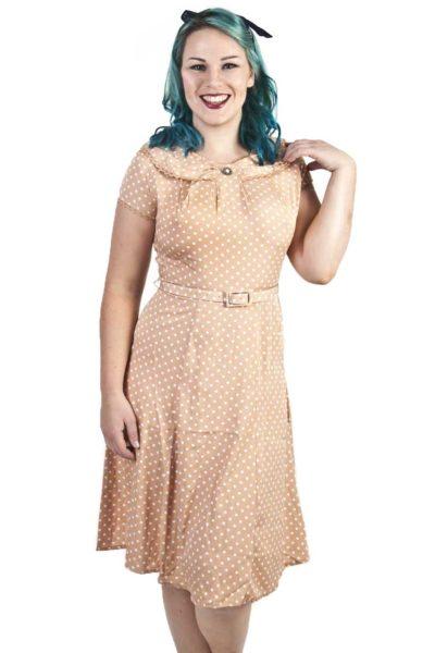 Ingrid Dress Latte