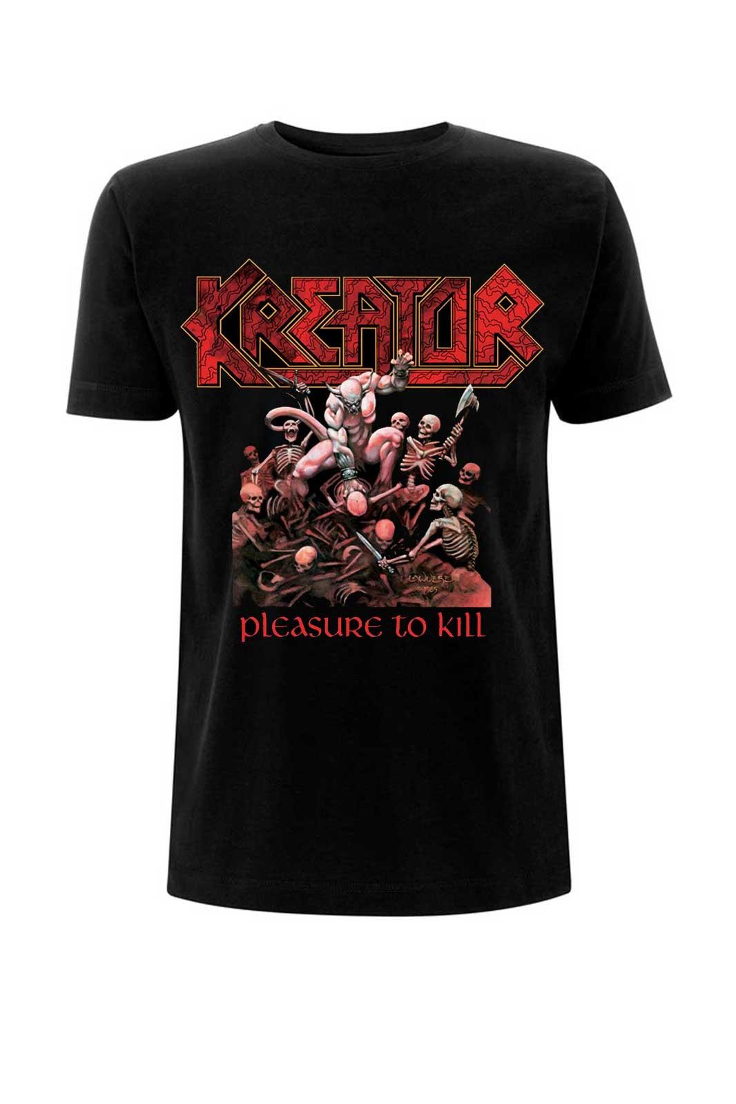 Tee Kreator Pleasure To Kill
