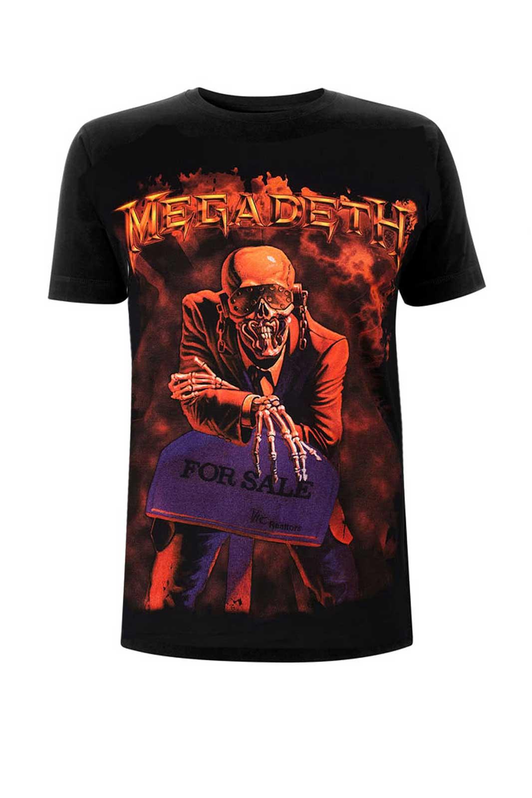 Tee Megadeth Peace Sells