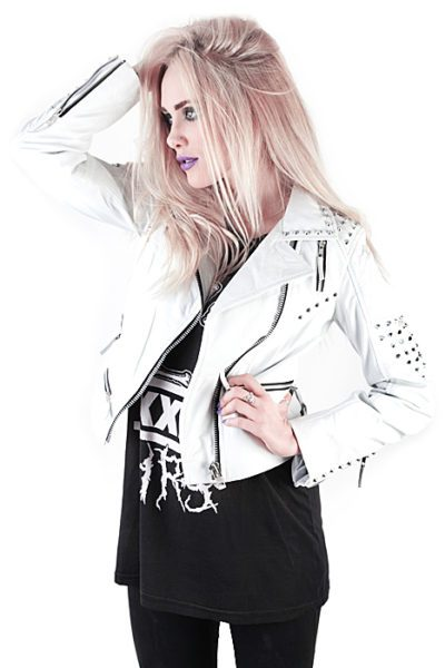 Point Leather Jacket