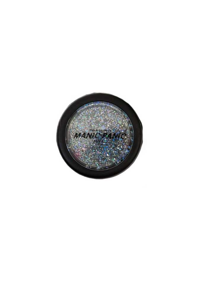 Rainbow Glitter Silver Ecstasy