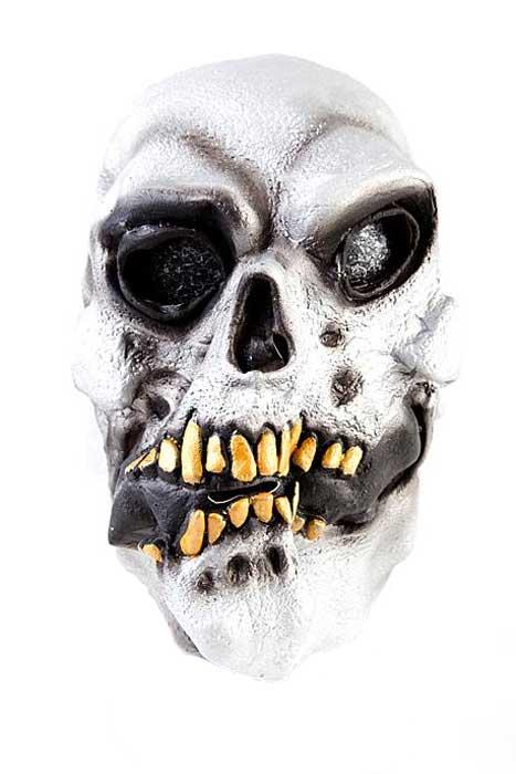 Skull Mask Silver