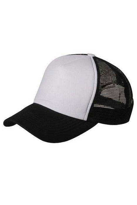 Trucker Cap Black/White