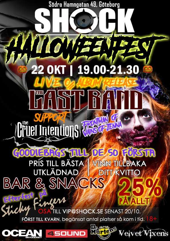Halloween VIP fest 2016