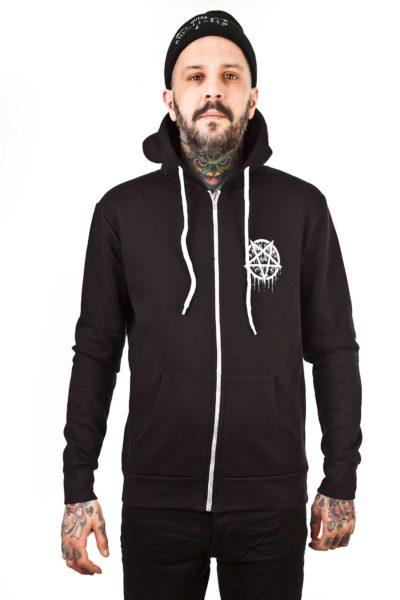 Pentagram cult hoodie