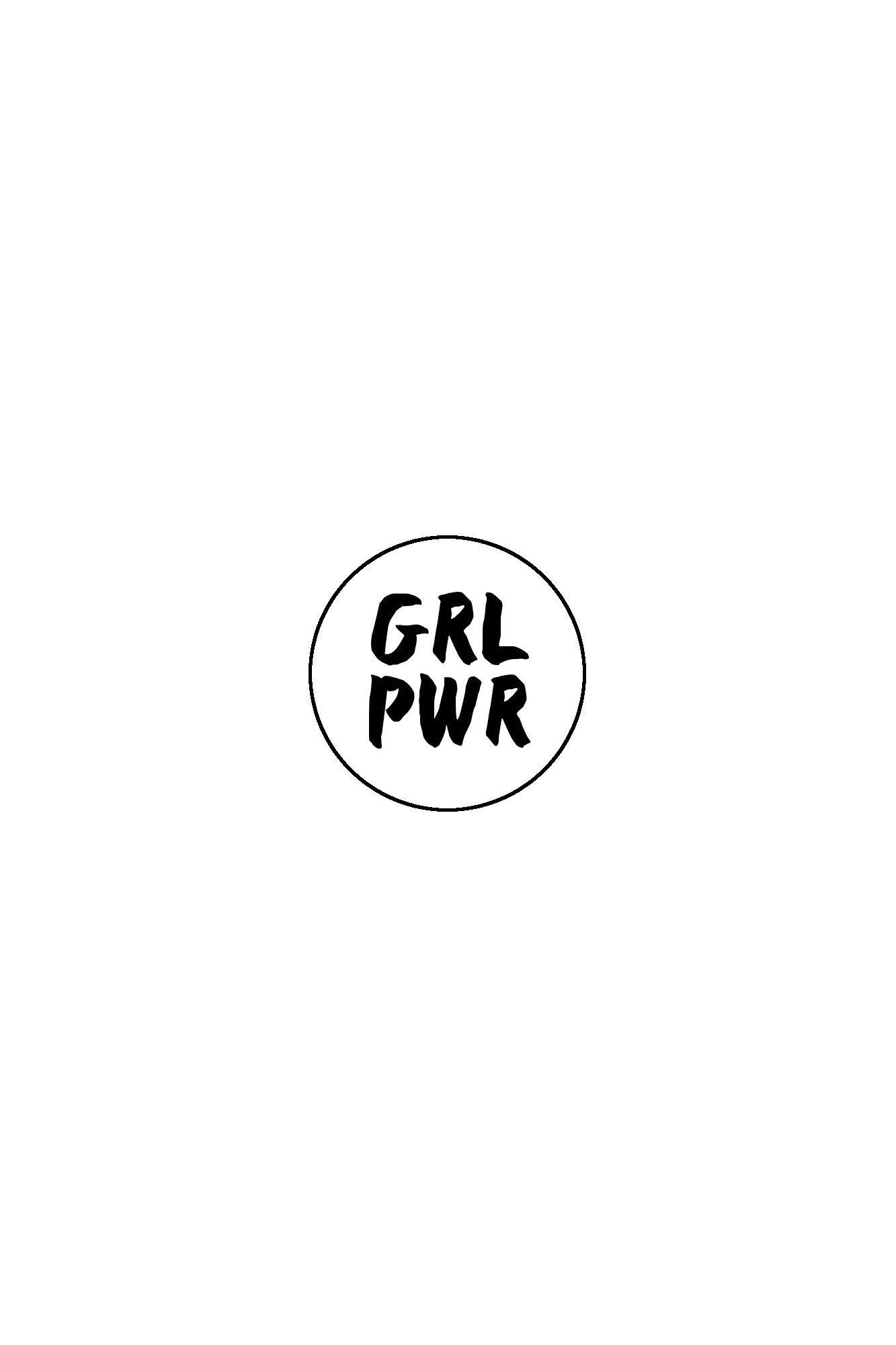 GRL PWR Badge
