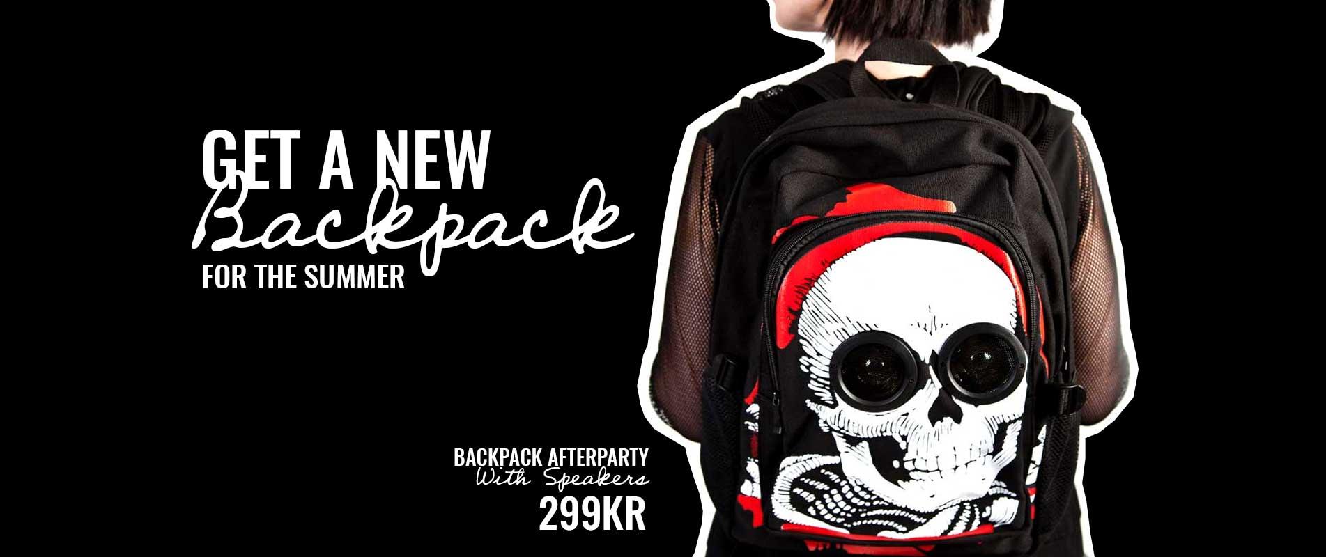 Backpacks banner