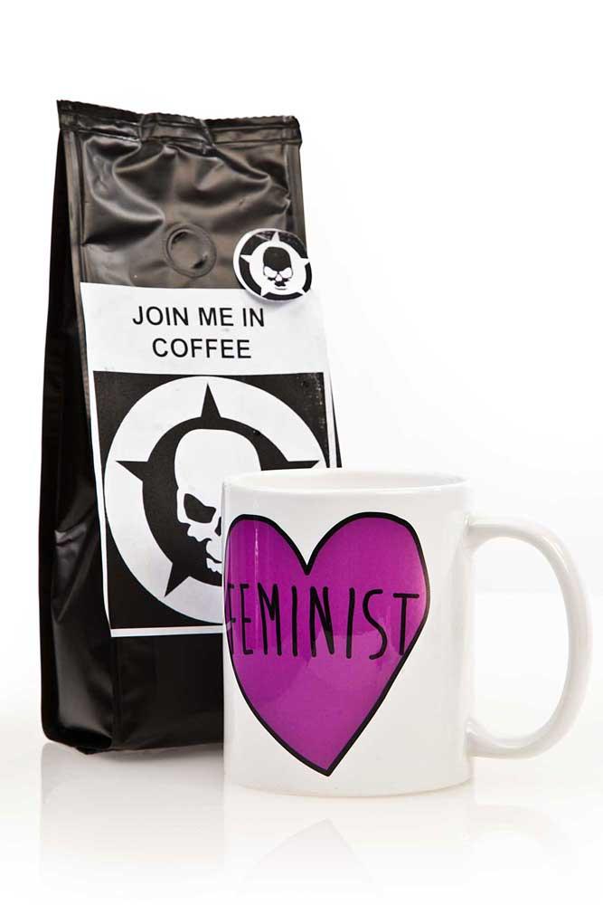 Feminist Heart Mug