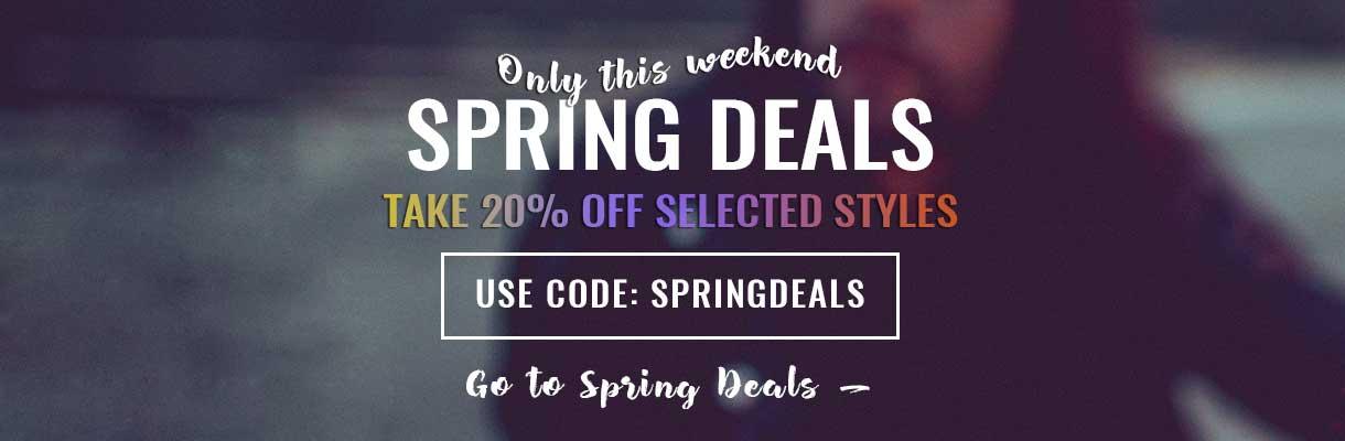 Spring Deals Banner