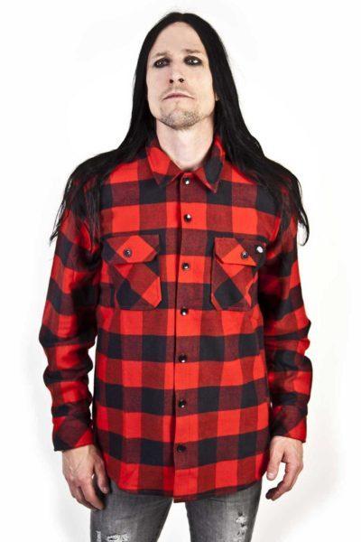 Boys Shirt Sacramento Red
