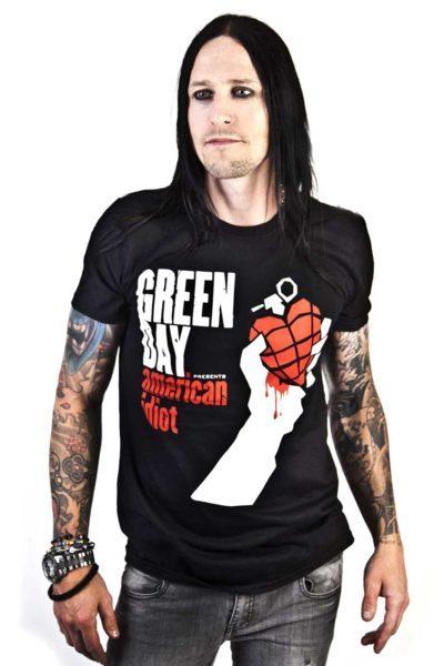 Tee Green Day American Idiot