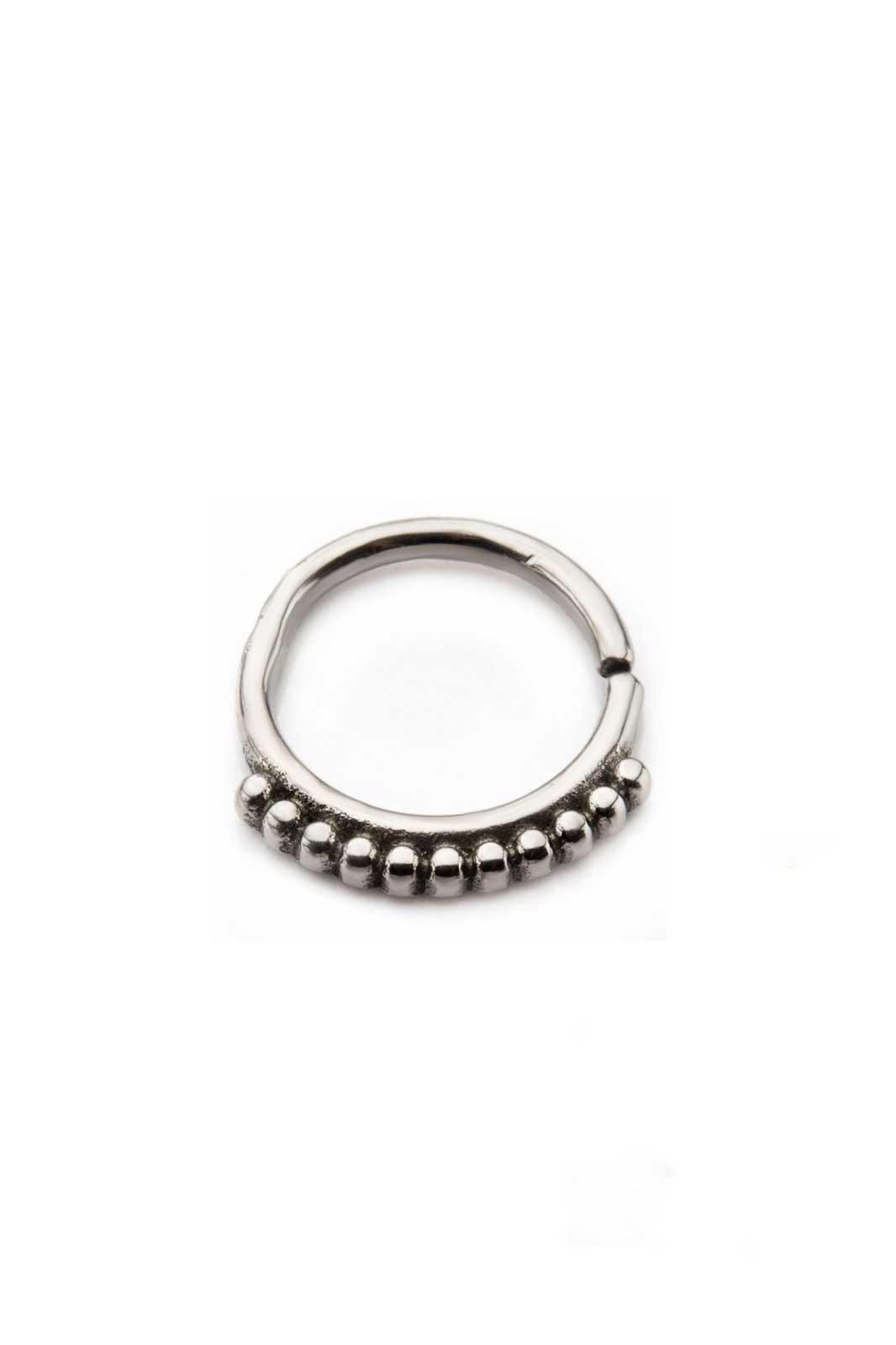 Annealed Shotball Ring