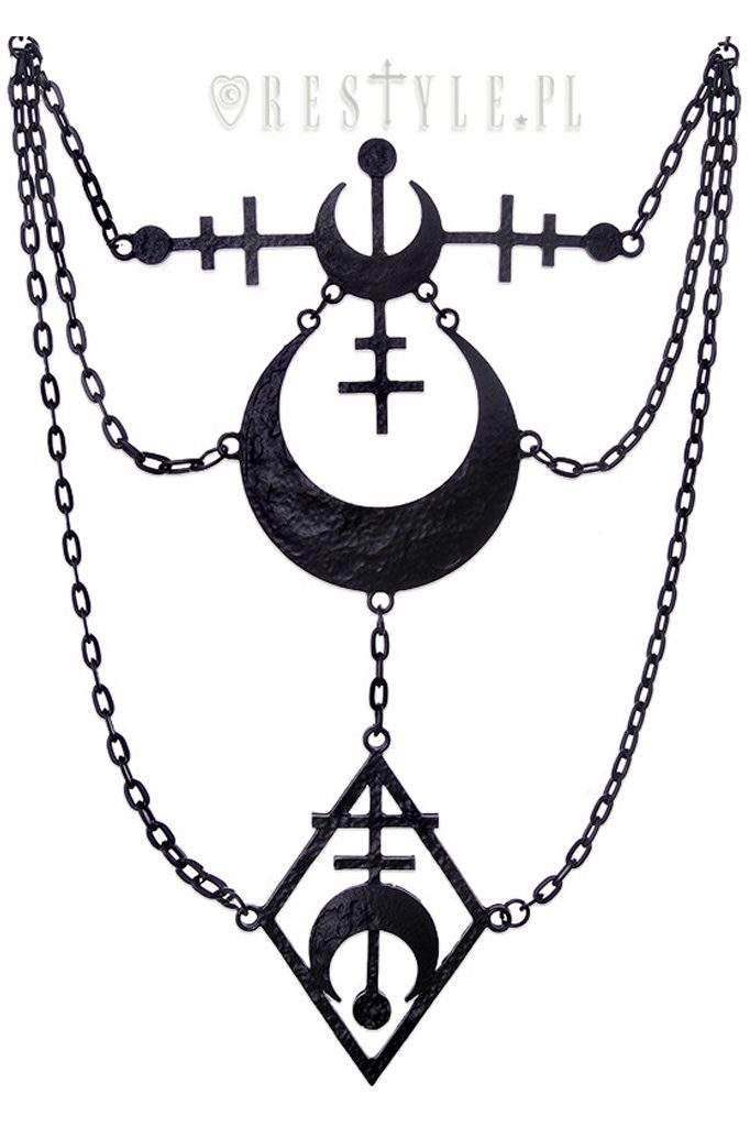 La Luna Black Necklace