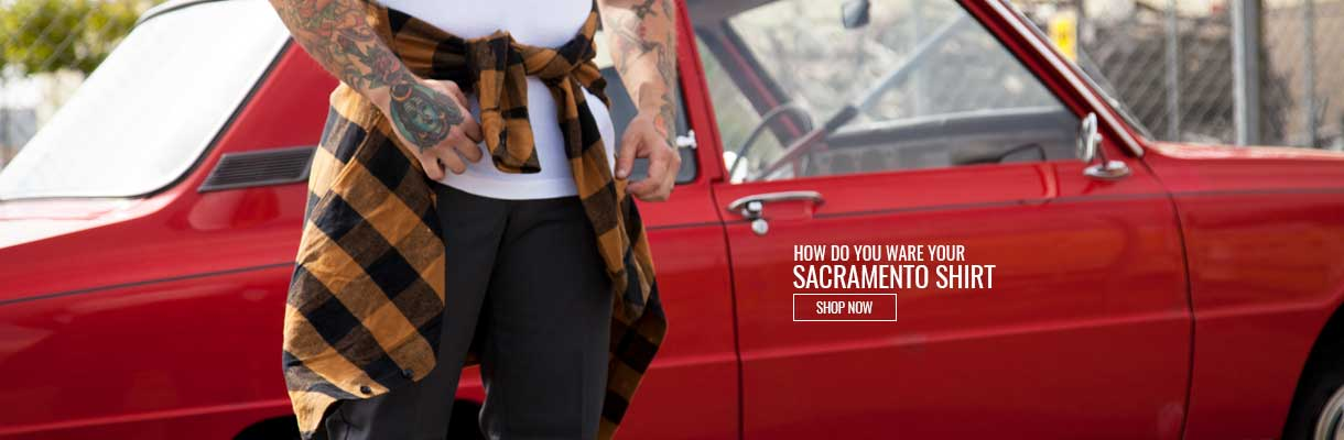 Sacramento Shirt Banner
