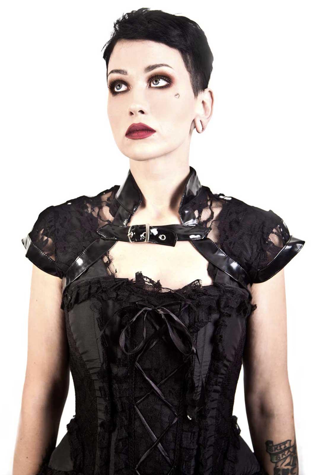 Geisha Lace Gothic Bolero