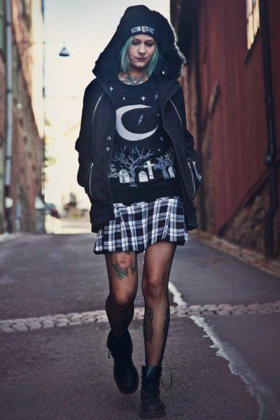 Goth Moon Knit Sweather