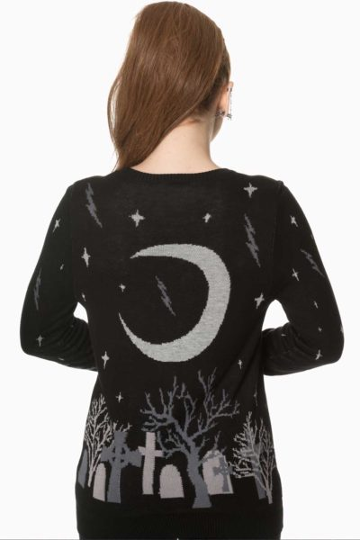 Moon Knit Jumper Back
