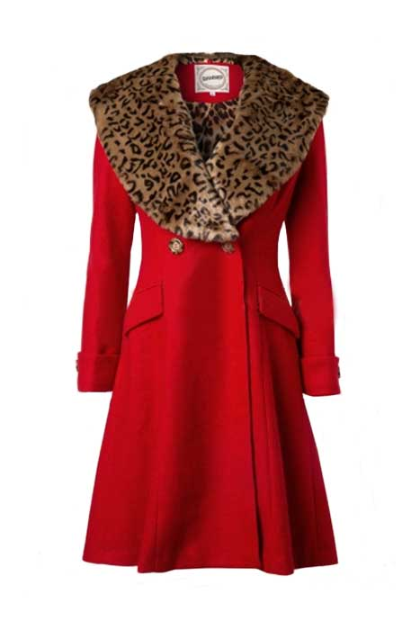 Vintage Coat Red
