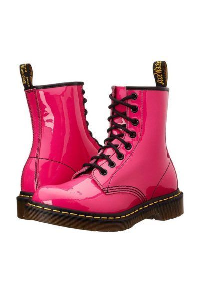 1460 Patent Hot Pink side