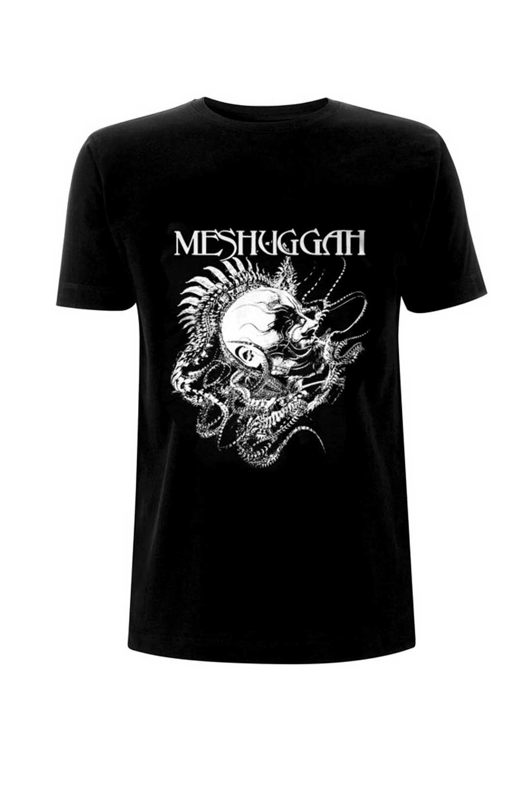 Meshuggah Spine Head Tee Front